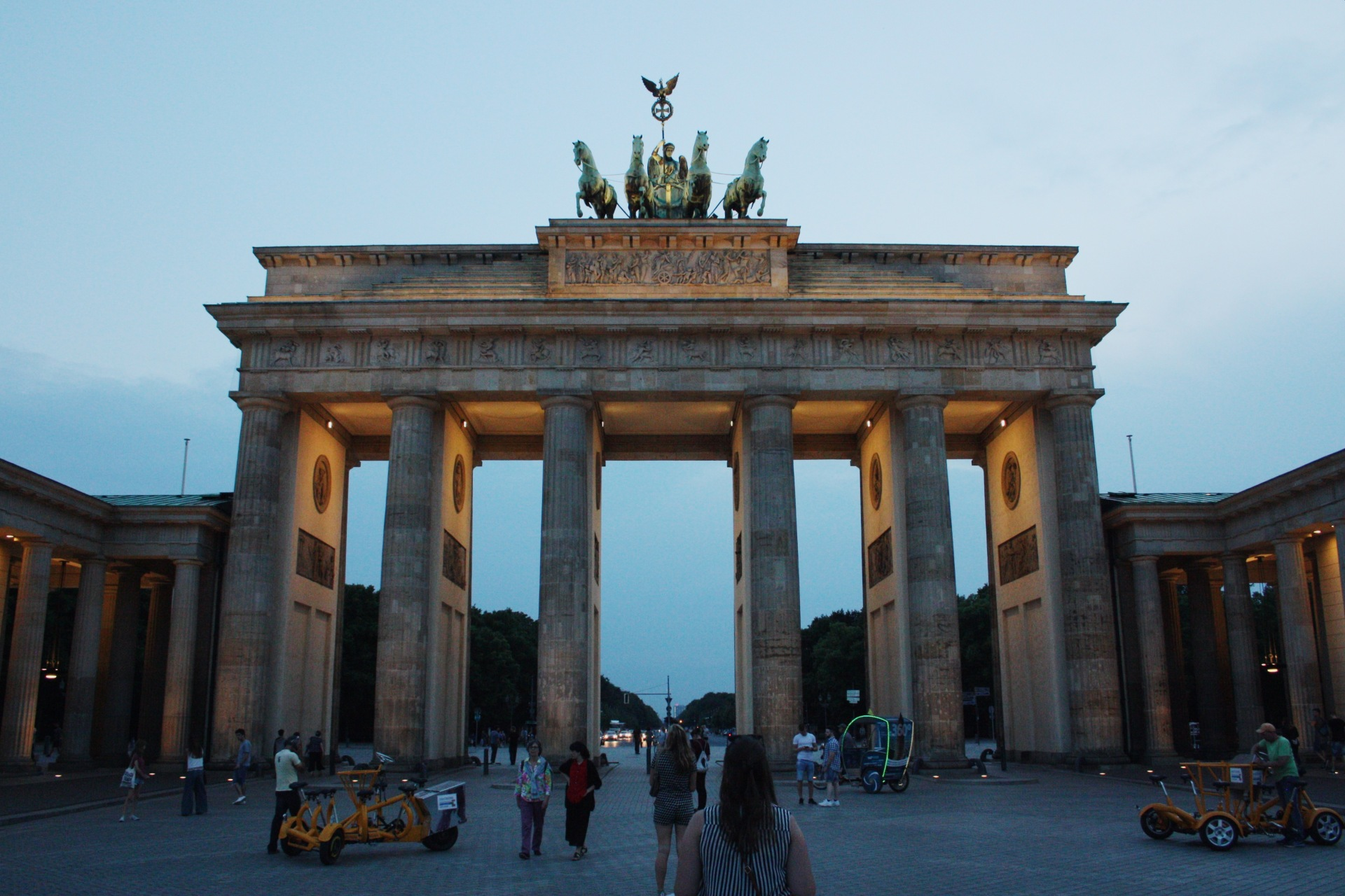 Berlin Tourist Attractions Brandenburg Gate