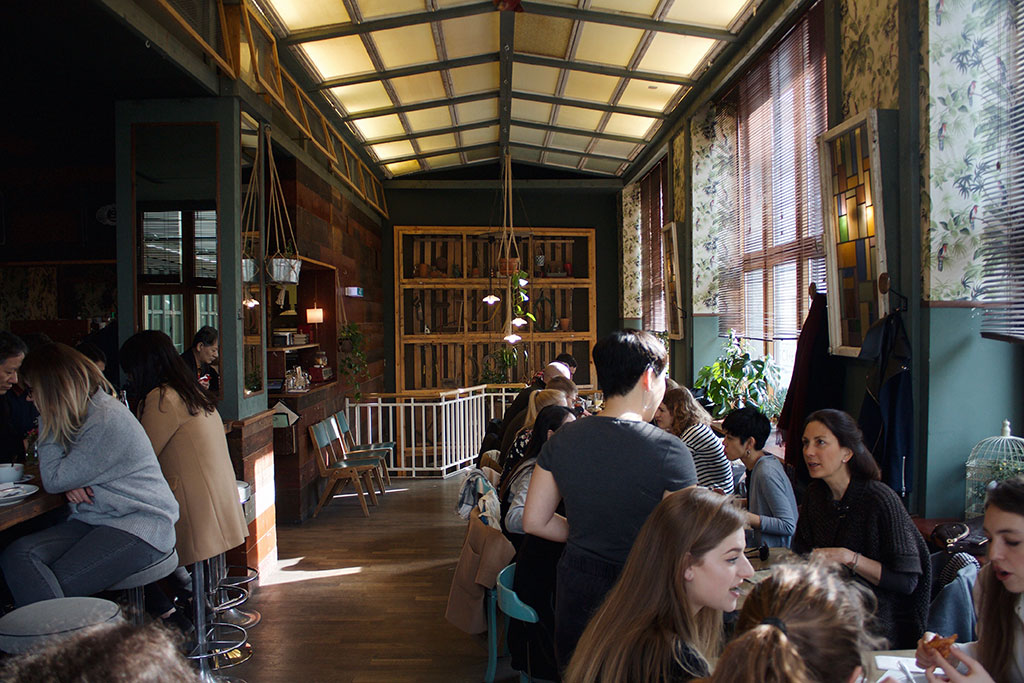 Brunch in Berlin House of Small Wonder