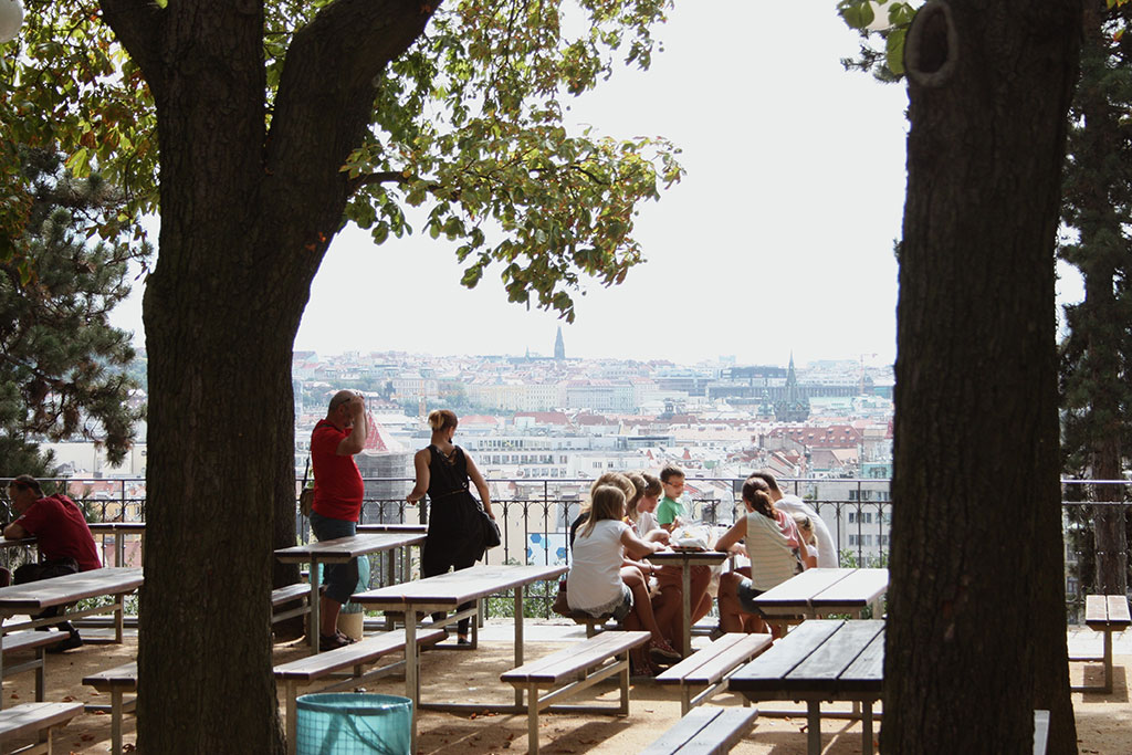 Sightseeing in Prague Prague Tourist Attractions Letna Park Beer Garden