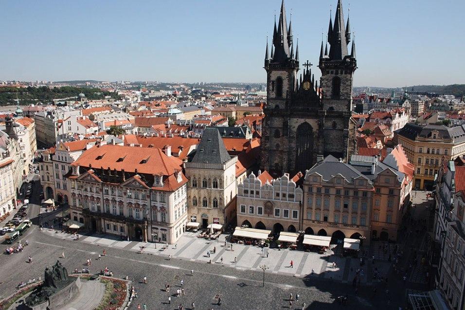 Sightseeing in Prague Prague Tourist Attractions Tyn Church