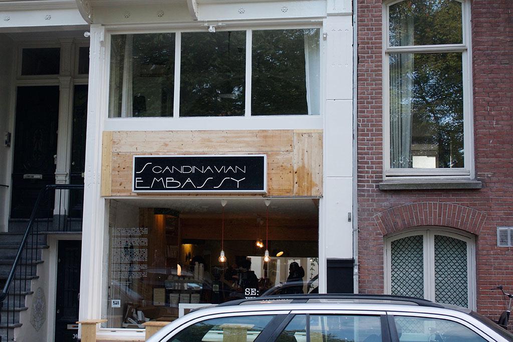 Coffee In Amsterdam Scandinavian Embassy